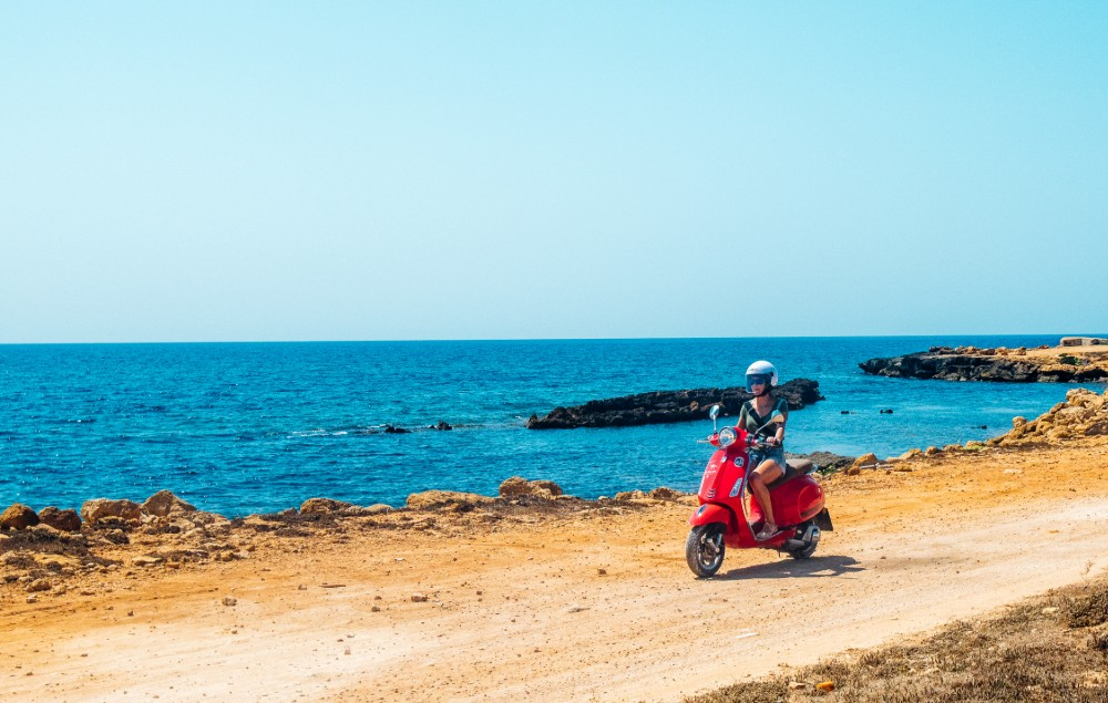 Picture of the Vespa Trip in Sicily