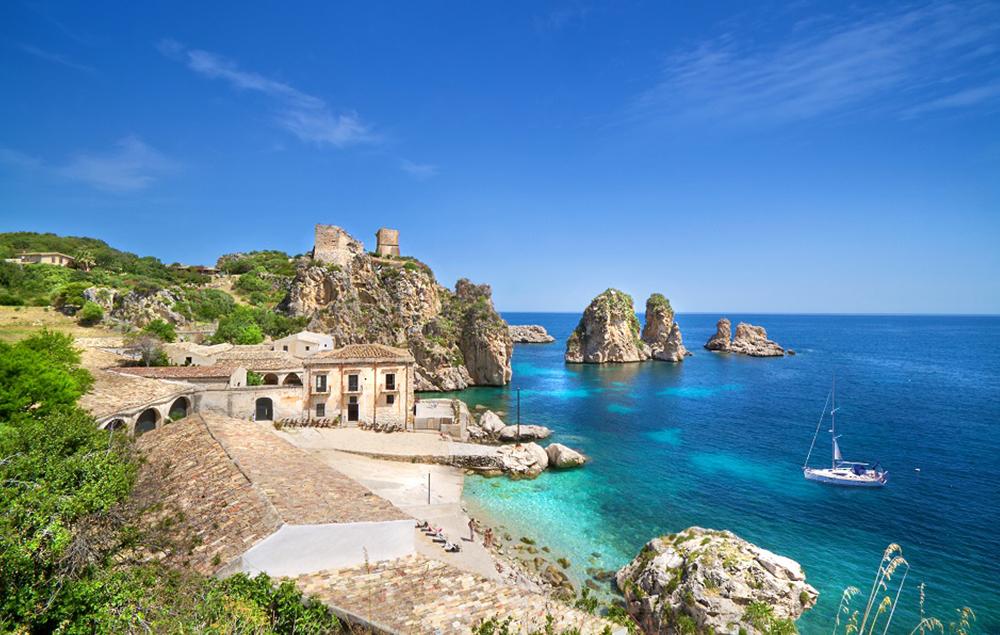 Picture of the Vespa Trip in Sicily